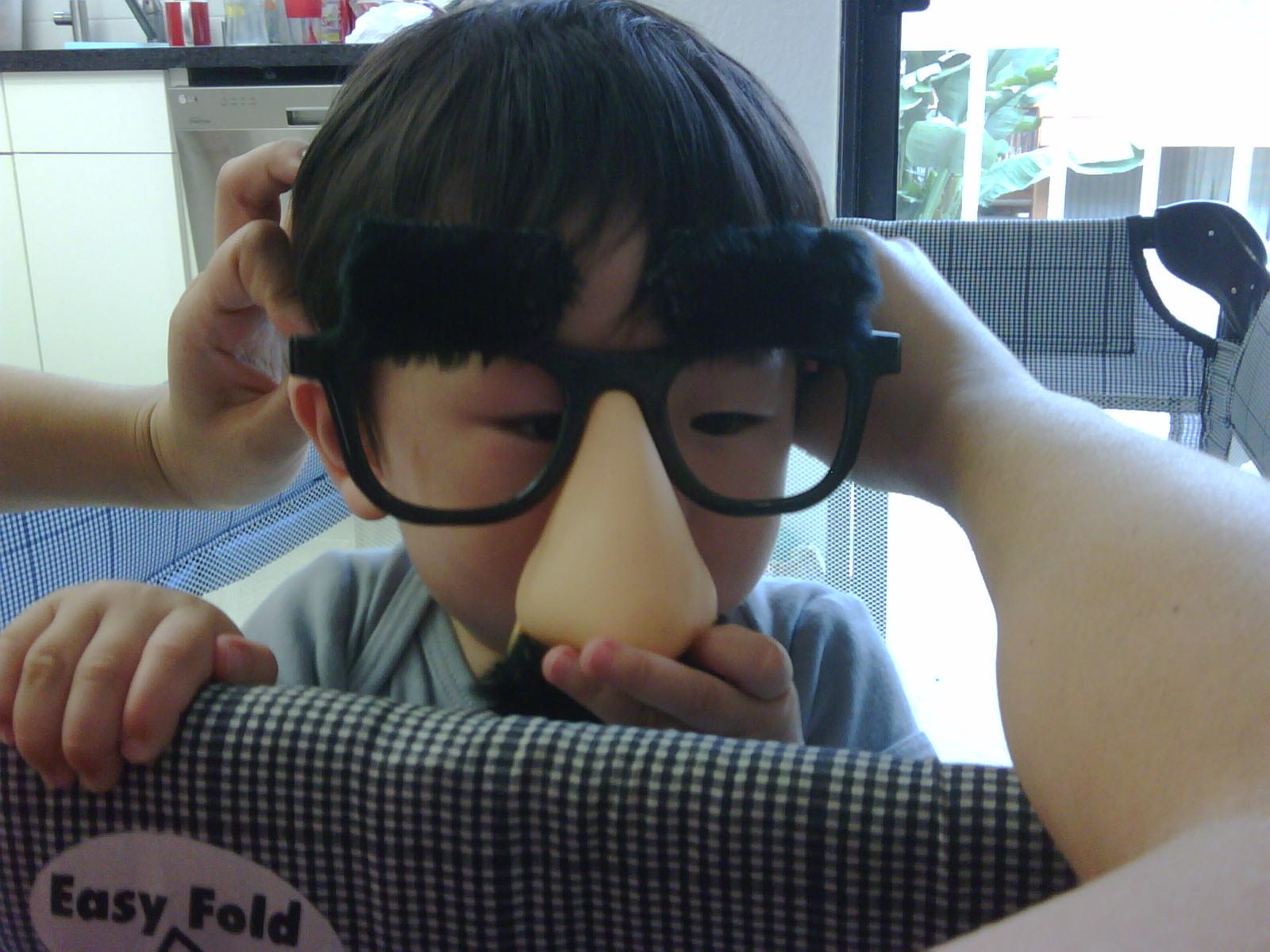 Mason Funny Nose
